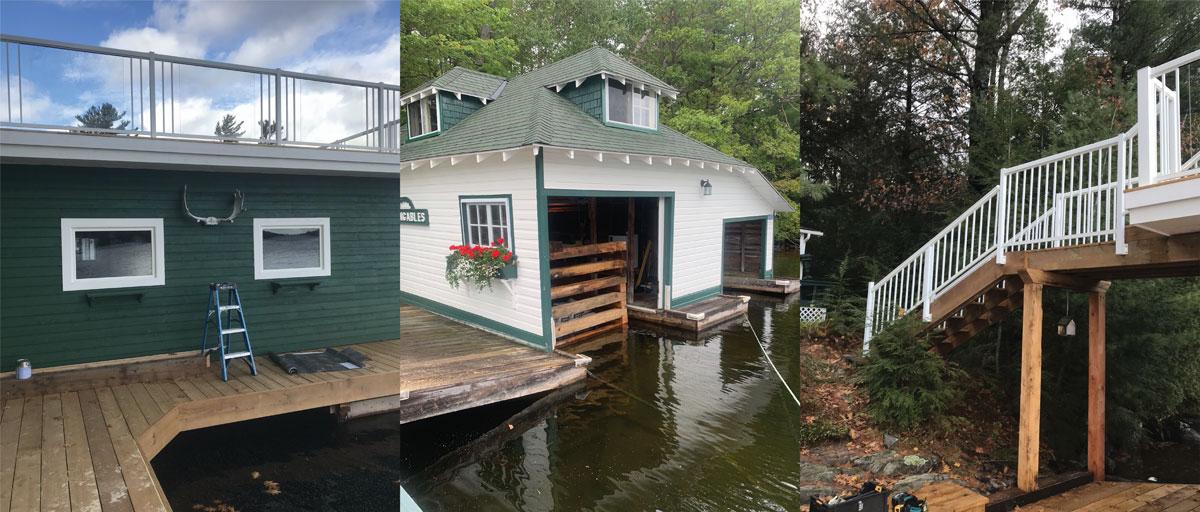 Boathouse Construction Muskoka